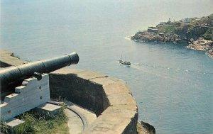 Canada Postcard St John's Newfoundland Queen's Battery Signal Hill Fort Amherst