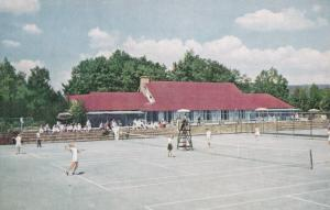 TENNIS , Inn at BUCK HILL FALLS , Pennsylvania , 50-60s