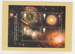 All Matter all energy is nature  postcard of postage Stamp, UK, 2002