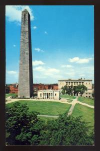 Charlestown, Massachusetts/MA/Mass Postcard, Historic Bunker Hill Monument