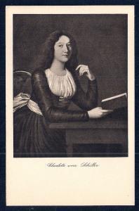Charlotte von Schiller unused c1920's