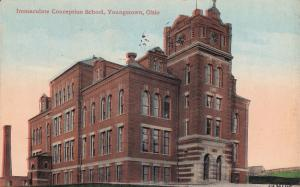 YOUNGSTOWN, Ohio, PU-1917; Immaculate Conception School