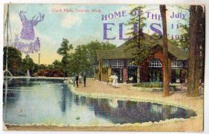 Home of the Elks, Clark Park, Detroit MI