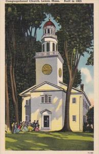 Congregational Church Lenox Massachusetts