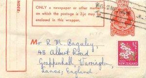 New Zealand Postal Stationery Feb. 1 / 2d 1970