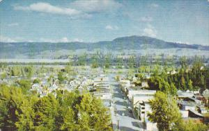 Birds-Eye View of Princeton, British Columbia, Canada, 40-60s