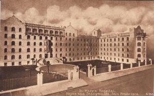 St Mary's Hospital , SAN FRANCISCO , California , 00-10s