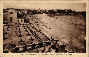 CPA DINARD - La Terrasse du Casino Municipal et la Plage (298277)