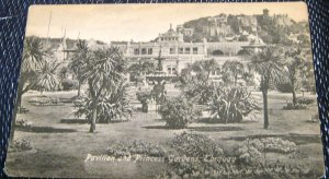 England Pavilion and Princess Gardens Torquay - unposted
