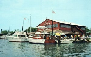 MD, The Crab Claw, St. Michaels, Maryland Postcard