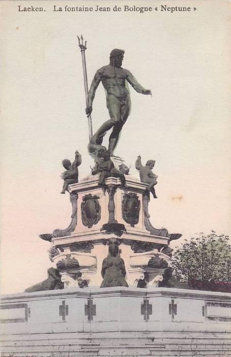 Leaken, La fontaine Jean de Bologne, Newptune, Brussels, Belgium, 00-10s
