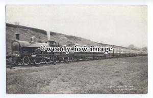 ry1454 - London & North West Railway - Royal Train - postcard