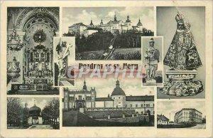 Modern Postcard is Pozdrav sv Hory