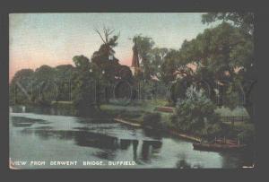 087237 UK View from Derwent bridge Duffield Vintage PC
