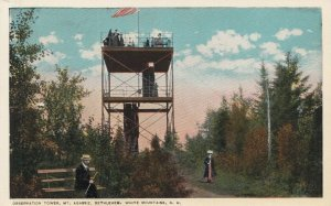 BETHLEHEM, New Hampshire, 1910-20s; Observation Tower, Mt. Agassiz