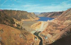 Postcard Anderson Ranch Dam near Mountain Home Idaho