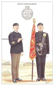 Postcard The British Army Series No.17 Royal Tank Regiment by Geoff White