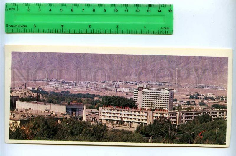 228805 Tajikistan Leninabad Khujand new neighborhood postcard