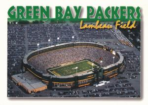 Sold Out Lambeau Football Stadium - Green Bay WI, Wisconsin - Green Bay Packers