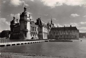 France Vintage Real Photo Postcard, Castle Chateau de Chantilly, Oise Y74