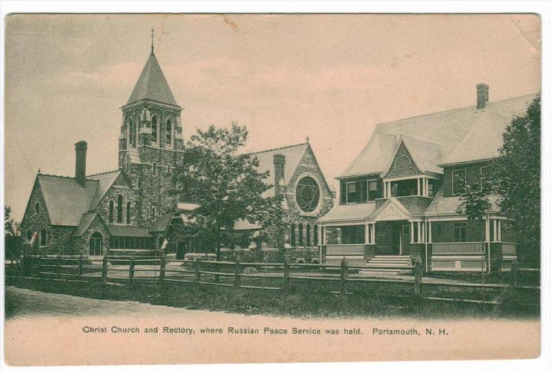 2207  NH  Portsmouth     Christ Church and Rectory