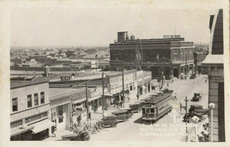 RP, JUAREZ , Mexico, 1930s ; Calle 16 De Septiembre