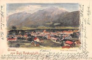 BG40970 gruss aus bad reichenhall stadtberg   germany