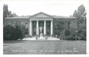 RPPC of Mackay School of Mines University Nevada Reno NV