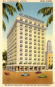 Florida Miami El Comodoro Hotel