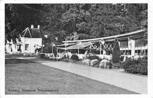 Netherlands Arnhem Sonsbeek Theeschenkerij 1960