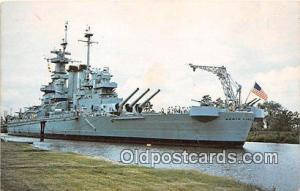 USS North Carolina Battleship Wilmington, North Carolina Postcard Post Card W...