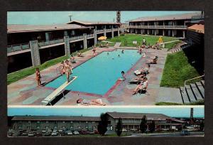 CO Ramada Inn Motel & Pool PUEBLO COLORADO Postcard PC