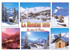 Postcard La Rosière, Savoie Ski resort in Montvalezan, France, Winter, Snow #745