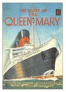 Queen Mary Cunard Line & Interior Vies Ship 1994