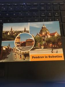 Vintage Postcard: Pozdrav IZ Subotice Grettings from Subotice, Multi view