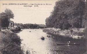 JOINVILLE-LE-PONT , France , 00-10s ; Les Bords de la Marne Canotage