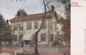 Illinois Springfield Abraham Lincolns Old Home