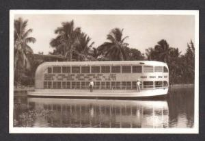 FL Miami Beach Show Boat Real Photo FLORIDA Postcard RPPC