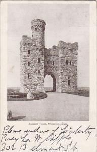 Massachusetts Worcester Bancroft Tower 1906