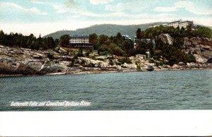 New York Hudson River Buttermilk Falls and Cranstons