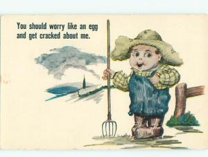 Divided-Back COMIC SCENE Great Postcard AA9770