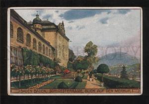 059264 GERMANY Baden-Baden Schlossterasse Vintage PC