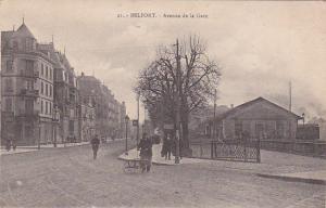 Avenue de la gare , Belfort , France , 00-10s