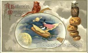 Artist Samual Schmucker Halloween Postcard Postcards  Hard To Find