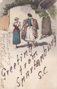 Couple Greetings , SPARTENBURG , South Carolina , PU-1906