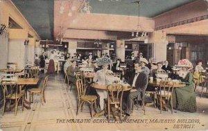 Michigan Detroit Basement Majestic Building The Majestic Servself Cafeteria