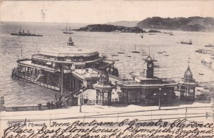 PLYMOUTH, England, PU-1904; Hoe Pier