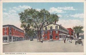 New Hampshire Laconia Bank Square