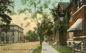 Canada - Ontario, Kingston. King Street, Frontenac Club