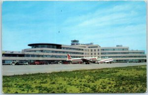 Pittsburgh PA Postcard GREATER PITTSBURGH MUNICIPAL AIRPORT Chrome c1960s
